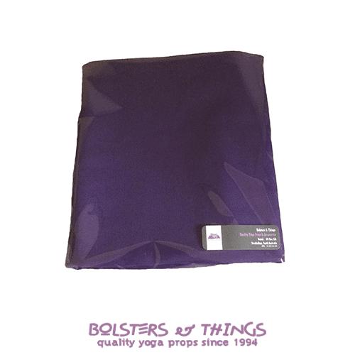 Standard Yoga Bolster Cover - Deep Purple