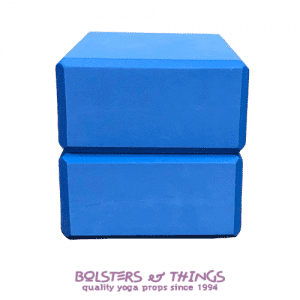 Bolsters & Things - Blue Foam Yoga Blocks x2