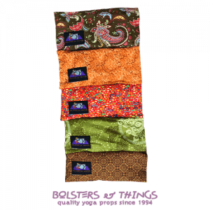 Bolsters & Things - Yoga Eye Pillows - Browns