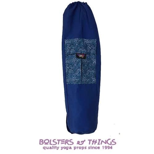 Bolsters & Things - Yoga Mat Carry Bag - Dark Blue