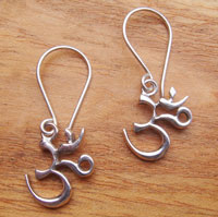 Bolsters & Things - Om Symbol Earrings