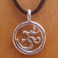 Bolsters & Things - Small Om Pendant