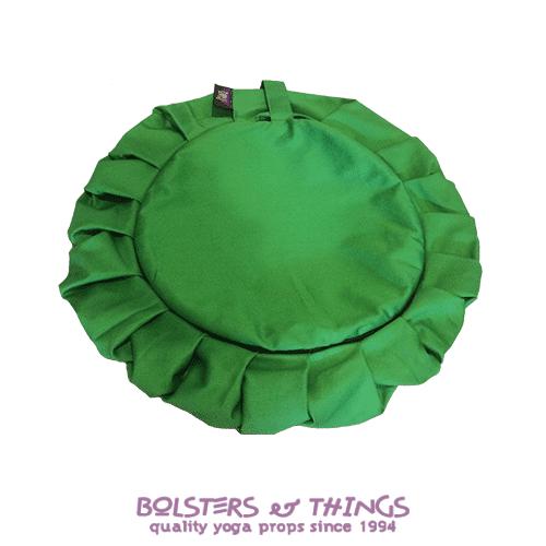 Bolsters & Things - Zafu Meditation Cushion Cover - Green