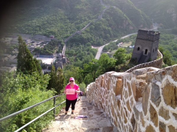 Bolsters & Things - Great Wall Trek Charity - Owner Jacqui Dobrilla