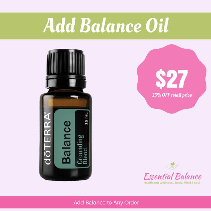 Essential Oils - Add Balance Oil