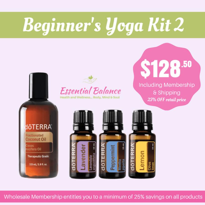 Essential Oils - Yogi Skincare Kit 2
