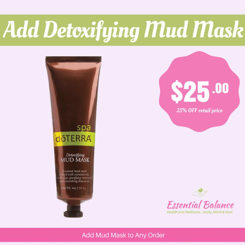 Essential Oils - Add Detoxifying Mud Mask