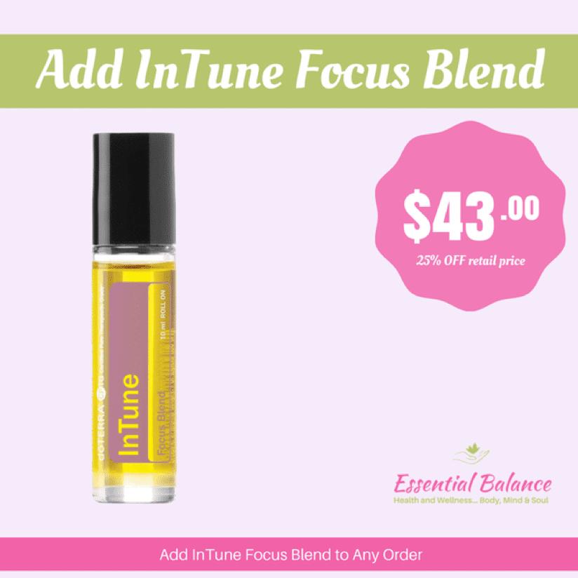 Essential Oils - Add InTune Focus Blend