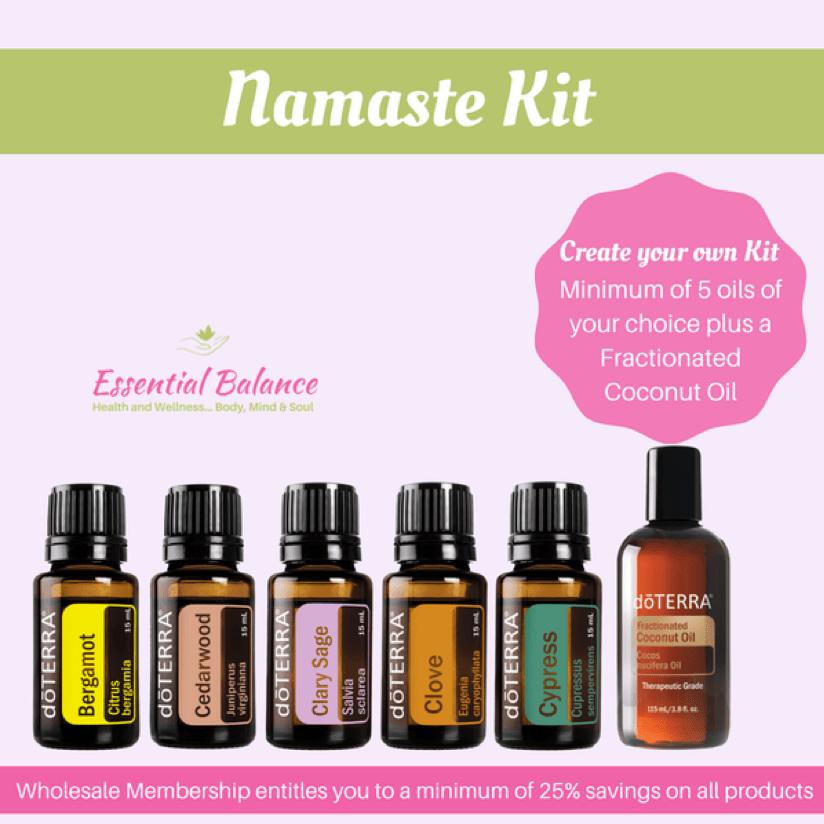 Essential Oils - Namaste Kit