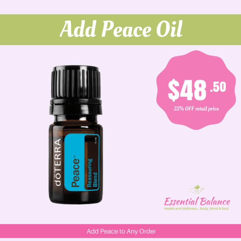 Essential Oils - Add Peace Oil
