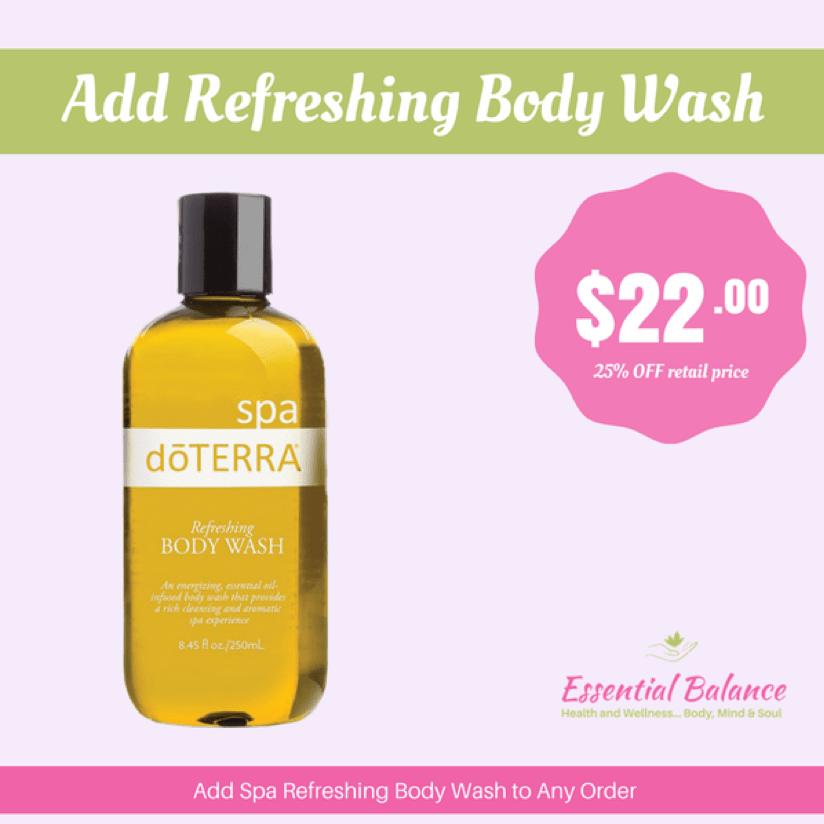 Essential Oils - Add Refreshing Body Wash