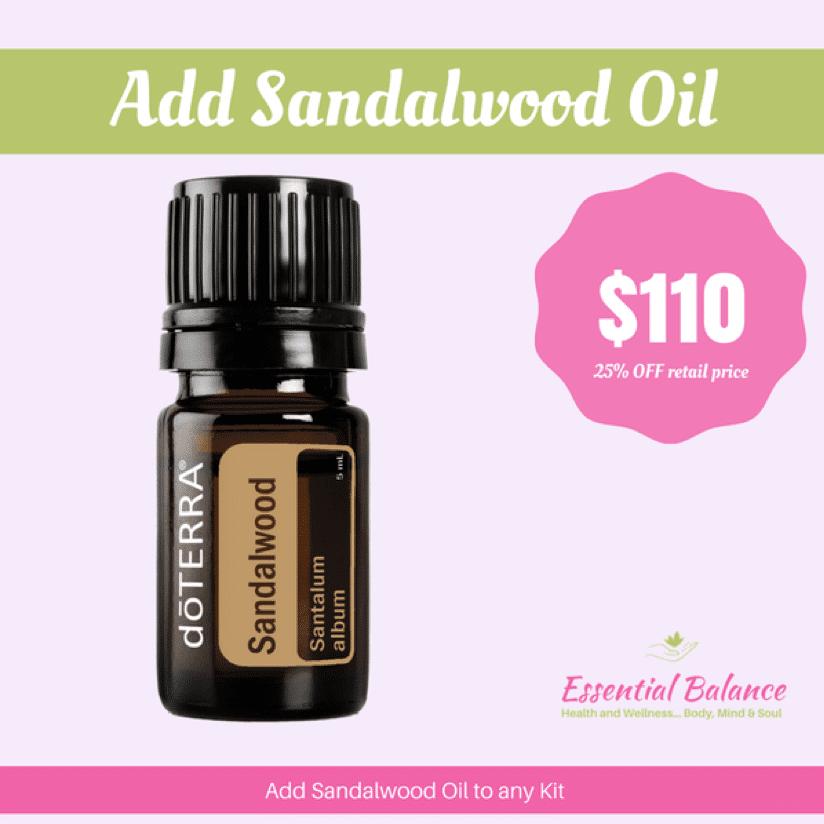 Essential Oils - Add Sandalwood Oil