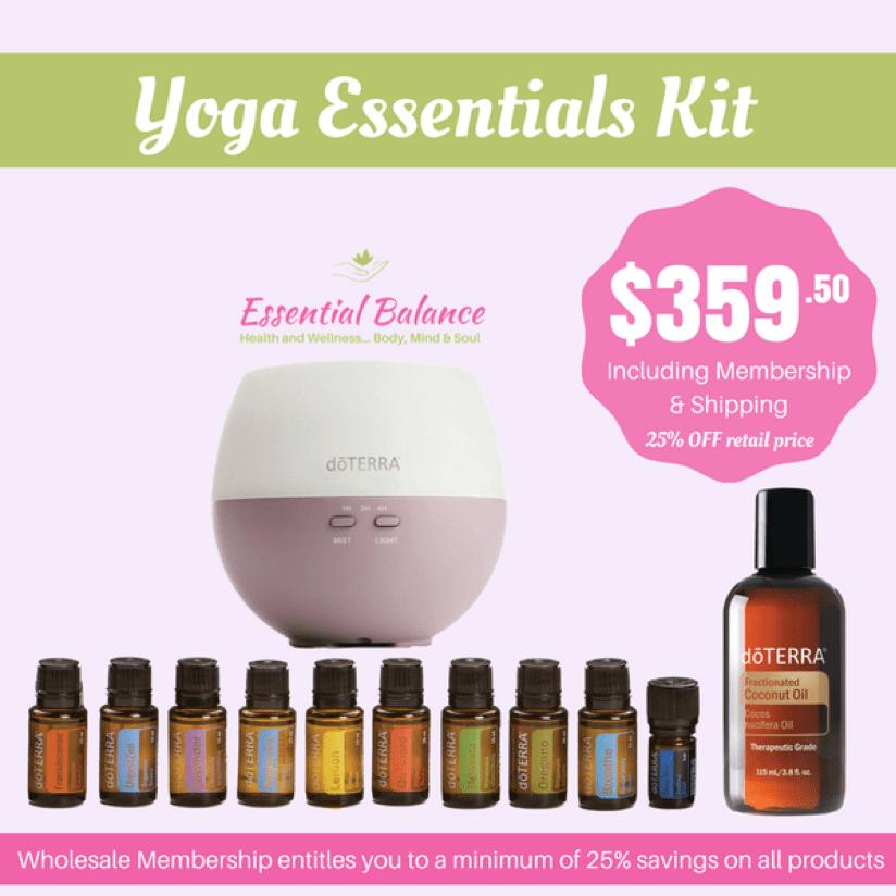 Essential Oils - Yoga Essentials Kit